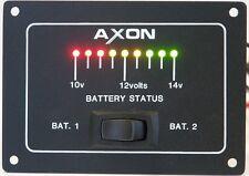 Battery Status Panel, 12v DC, for Marine / Boat / Motorhome / Horsebox