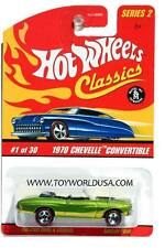 Hot Wheels Classics Series 2 #1 1970 Chevy Chevelle Convertible antifreeze