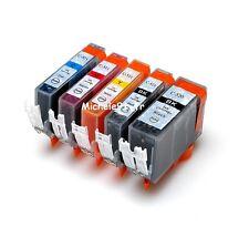 10 CARTOUCHES COMPATIBLES POUR CANON PGI 520 ET CLI 521 POUR MP 550 MP 560