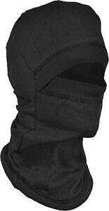 Thermo Sturmhaube Skimaske Schlupfmütze gegen die Kälte schwarz