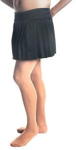 "Mens Skirt, Black Pleated Skirt Sexy Style Up To 44"" Waist! Crossdresser/TG"
