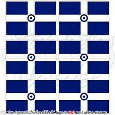 GREECE Hellenic Greek AirForce Flag Mobile Cell Phone Mini Stickers, Decals x6