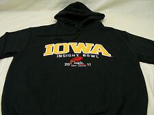 IOWA HAWKEYES - NCAA/FBS/BIG TEN/INSIGHT BOWL - SMALL SIZE HOODIE SWEATSHIRT!