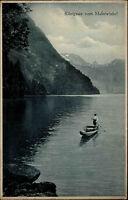 Königssee alte Ak Bayern ~ 1910 Blick auf den See vom Malerwinkel gesehen
