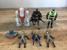 "DC Comics Action Figures Lot Of 6 Batman Catwoman Cat Woman & More  3.5""-5"" Tall"