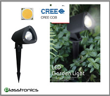 5W Premium Garden low voltage CREE LED light Warm WHITE 12V AC/DC Spike IP65