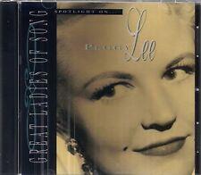 Peggy Lee - Spotlight on Peggy Lee - Great Ladies of Song Series