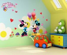 Mickey Mouse and Minnie Vinyl Wall Decals Sticker Kids Nursery Room Decor