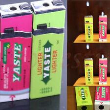 Chewing Gum Smoking Tobacco Refillable Butane Gas Flame Cigarette Cigar Lighter