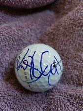 Rory McILROY signed autograph limited Taylor Made clover logo golf ball JSA PGA