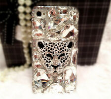 3D Glitter Luxury Bling Diamonds Crystal Soft Back TPU Case Cover Skin For Apple