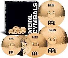 Meinl Cymbals CC-141620+18 Classics Custom Bonus Pack Cymbal Box Set with FREE 1