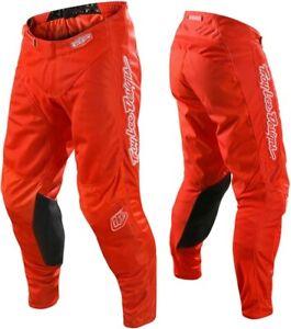Troy Lee Designs MONO Orange TLD MX GP Motocross Race Pants Adults