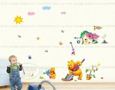 Winnie The Pooh Wall Art Decal Removable Nursery Kids Stickers Home Decor DIY
