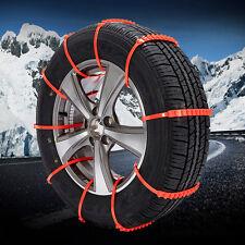 2016 10Pcs Car Snow Anti-skid Wheel Tire Chains Universal Fit Tyre Width 175-295
