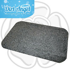 JVL Slate Grey Dirt Angel Eco Machine Washable Entrance Door Mat UK Made 50x75cm
