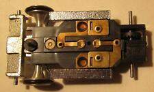 Aurora AFX Super II Black Chassis Gold Plated, Weights, Front Wheels & New Tires