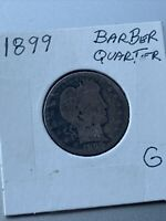 1899 Barber Quarter G