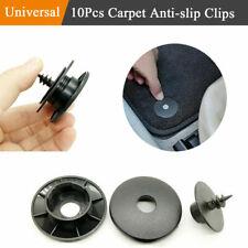 10x Black Auto Car Carpet Clip Floor Mat Buckle Latch Fastener screw Accessories