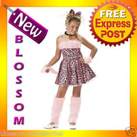 CK21 Purrty Kitty Pink Leopard Jungle Fancy Dress Party Child Halloween Costume