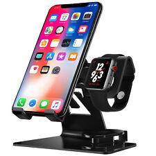 3 In 1 iPhone und Apple Watch iWatch Ladestation Stand Station Ladegerät Halter