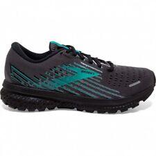 Brooks Ghost 13 GTX Womens Road Running Shoes - Black/Black/Peacock - 8