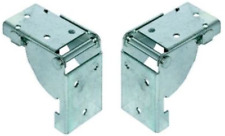 2 Folding Table Leg Brackets Locks in position, open and closed-Made In GERMANY