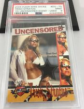 Trish Stratus 2004 Fleer Wwe Divas Uncensored Event Used Relic Card Psa 9 Rare
