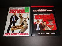 WEDDING CRASHERS ULTIMATE CRASHERS MIX CD w/movie-OWEN WILSON, VINCE VAUGHN-DVD