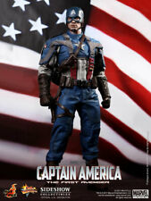 USA 1/6 HOT TOYS MMS156 First Avenger Captain America Chris Evans ACTION FIGURE