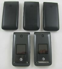 5 Alcatel 4044o Cingular Flip 2 At&T Cellphone Lot Good