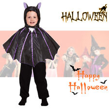 Halloween Baby Toddler Animal Bat Fancy Dress Costume Jumpsuit With Hood & Wings