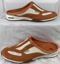 Cole Haan Nike Air Womens Athletic Shoes Slip On Orange Off White Size 9.5 B