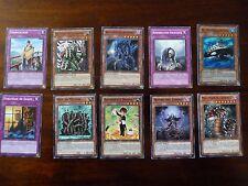 1996 - VF - Lot de 10 cartes Yu-Gi-Oh! - HAIE DE DEFENSE (etc...) - Lot 7