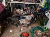Jawa 250 and 350 wrecking all parts available this action is for one bolt only
