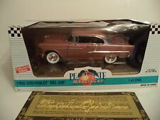 ERTL COLLECTIBLES PEACH STATE CHEVROLET BELAIR 50TH 1955  1/18TH SCALE  IN BOX.