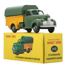 1: 43 Dinky Toys 25Q Studebaker Camionnette Bachee Navy Car Model Toy Gift