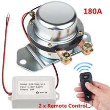 Car Manual Control Battery Switch Disconnect Anti-theft Power Master Kill DC12V