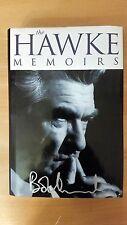 The Hawke Memoirs Bob Hawke Autobiography **Signed By Bob**