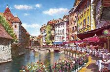 """[ Impuzzle ] """"Placidus-Tuscany French Restaurant""""   1000 Piece Jigsaw Puzzle for"""