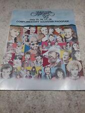 "Vintage ""Jamboree In The Hills '93"" Country Music Festival - Souvenir Program"
