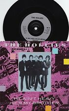 Hollies UK PS Reissue 45 He ain't heavy EX R5733 Psyche Pop