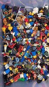 lego minifigure parts & accessories lot City Castle Agents Ninjago More 1lb