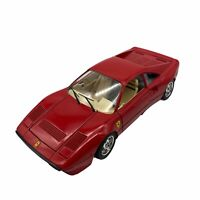Vintage Ferrari GTO 1984 Red 1:24 Scale Die Cast Metal Red Car Burago Auto Italy