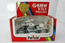 POLISTIL 1/15 MOTO BMW R75/5 POLIZEI CITY MS609 POLITOYS