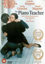 Piano Teacher 5021866214306 With Isabelle Huppert DVD Region 2