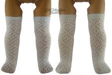 2 Colors, Pattern Socks 1 PR Cream & 1 PR White for American Girl Doll Clothes
