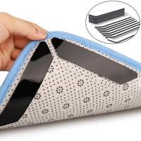 8x Reusable Rug Carpet Mat Grippers Anti Slip Grip Skid Tape For All Floor Types