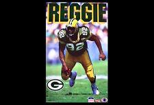 Vintage Original REGGIE WHITE Green Bay Packers 1993 Starline NFL Action POSTER