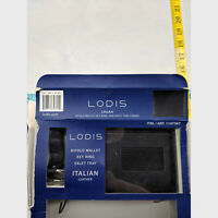 Lodis Logan Italian Leather Bifold Wallet + Key Ring
